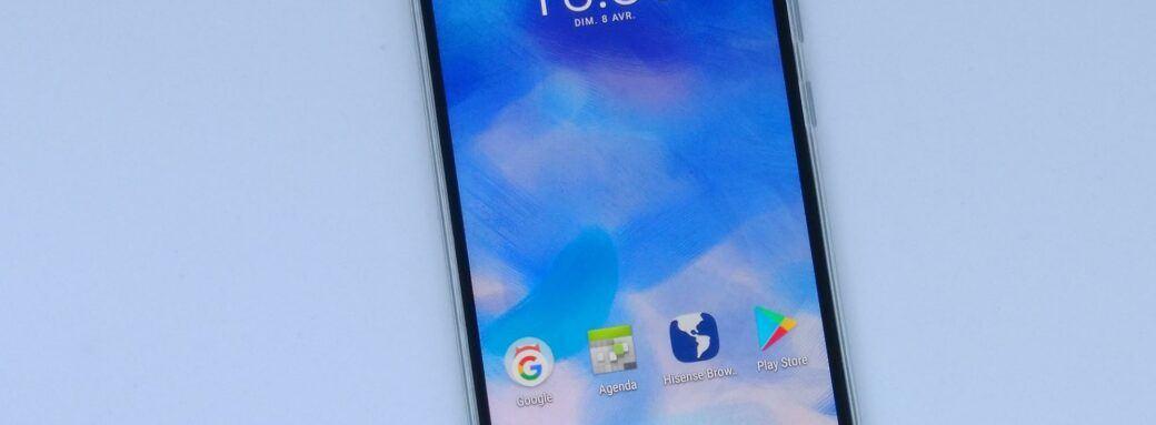 Le smartphone sans ma main