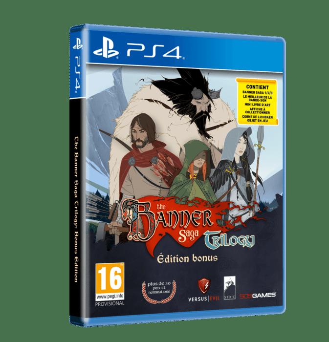 Banner Saga Trilogy Pack PS4 FR