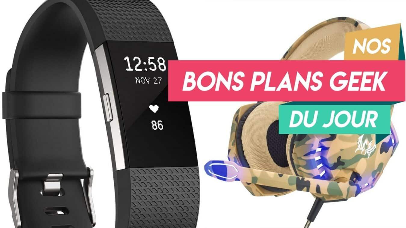 Photo of #BonsPlansGeek FitBit Charge 2 pour moins de 125€ et Casque Gamer Pro pour 22€
