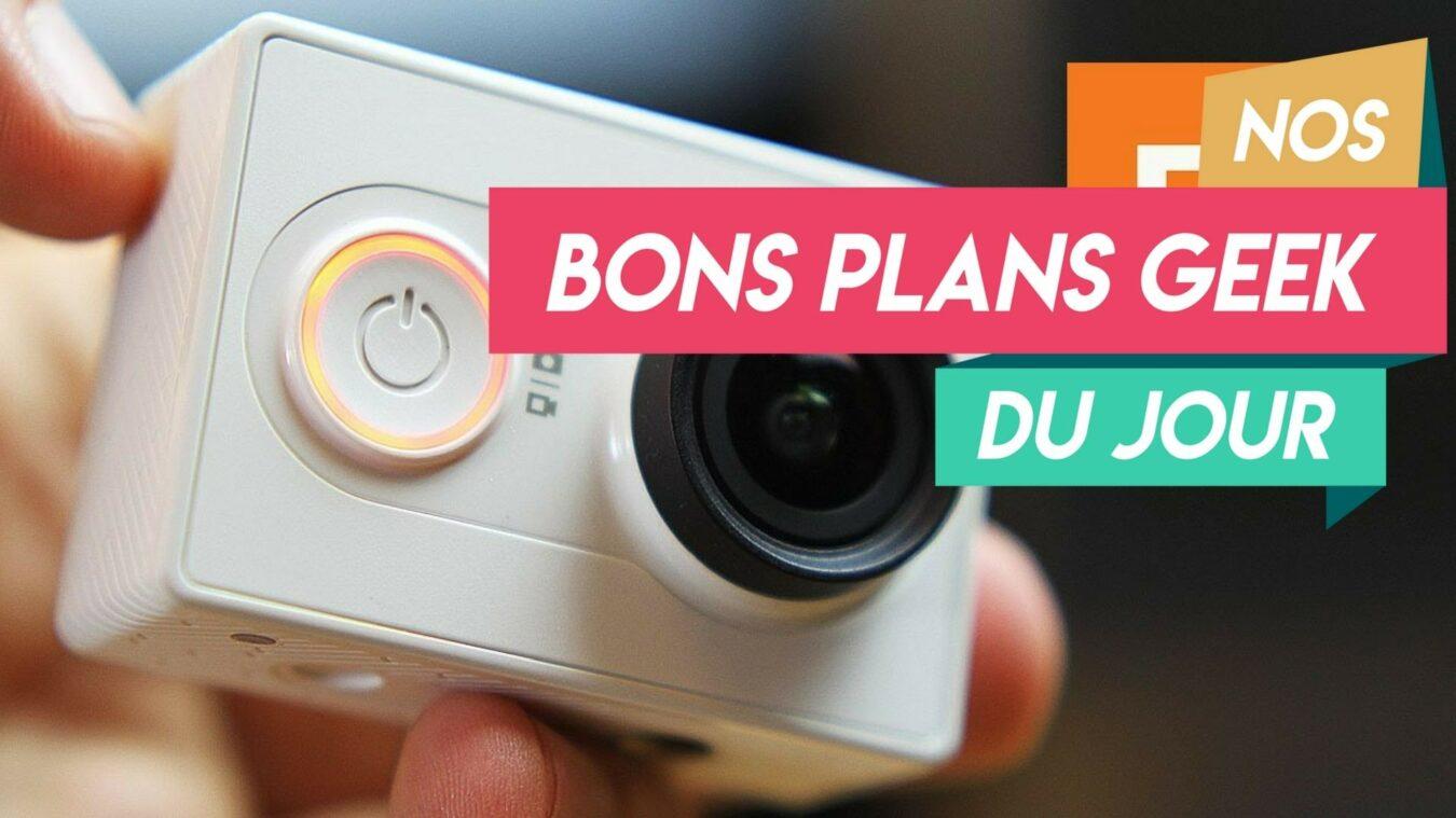 Photo de #BonsplansGeek Une Action Cam Ultra HD 4K pour 50€ et plein d'accessoires!