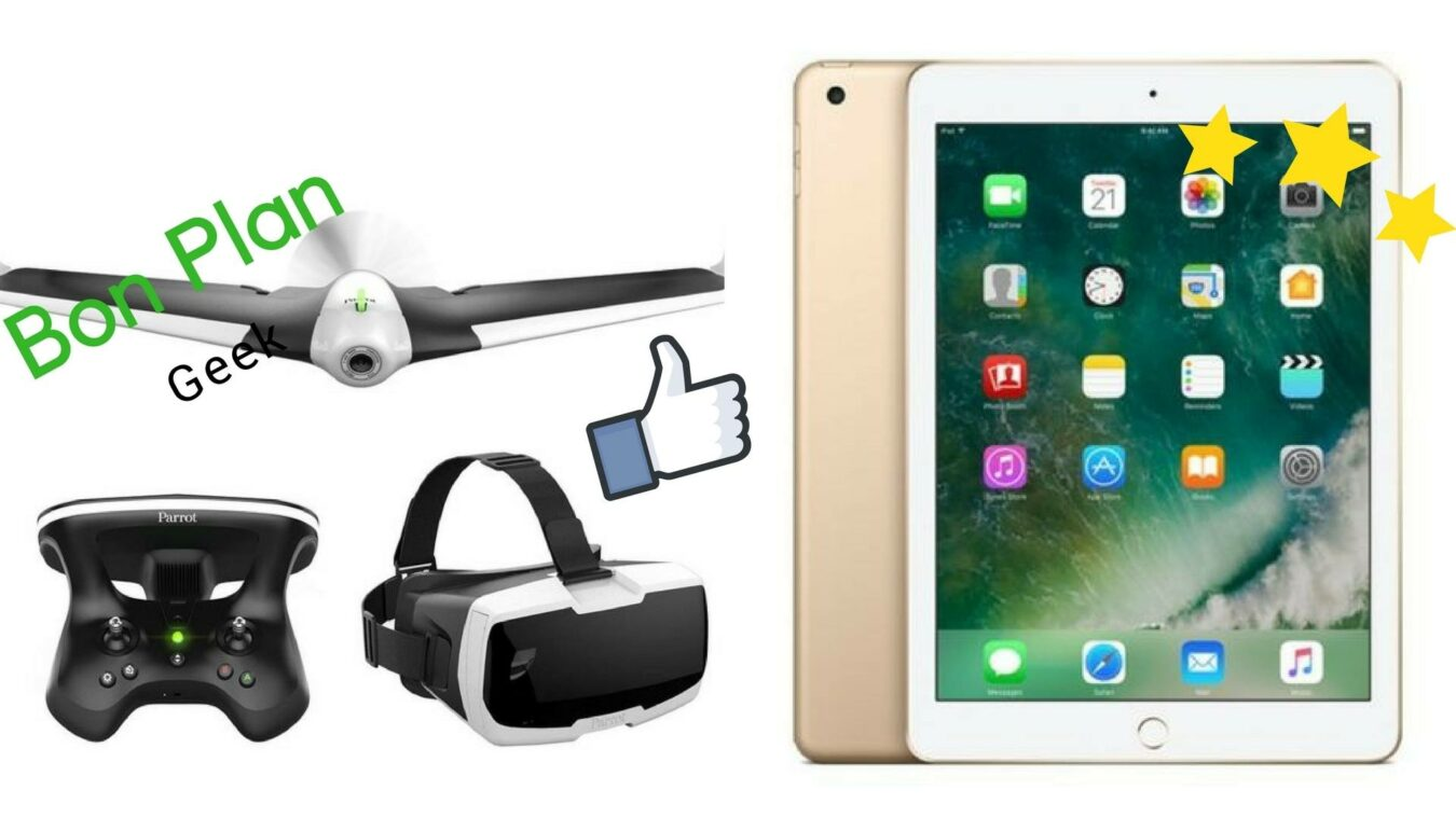 Photo of Un Kit Drone Parrot et un iPad 9,7″ pour 300€ – Bons Plans Geek
