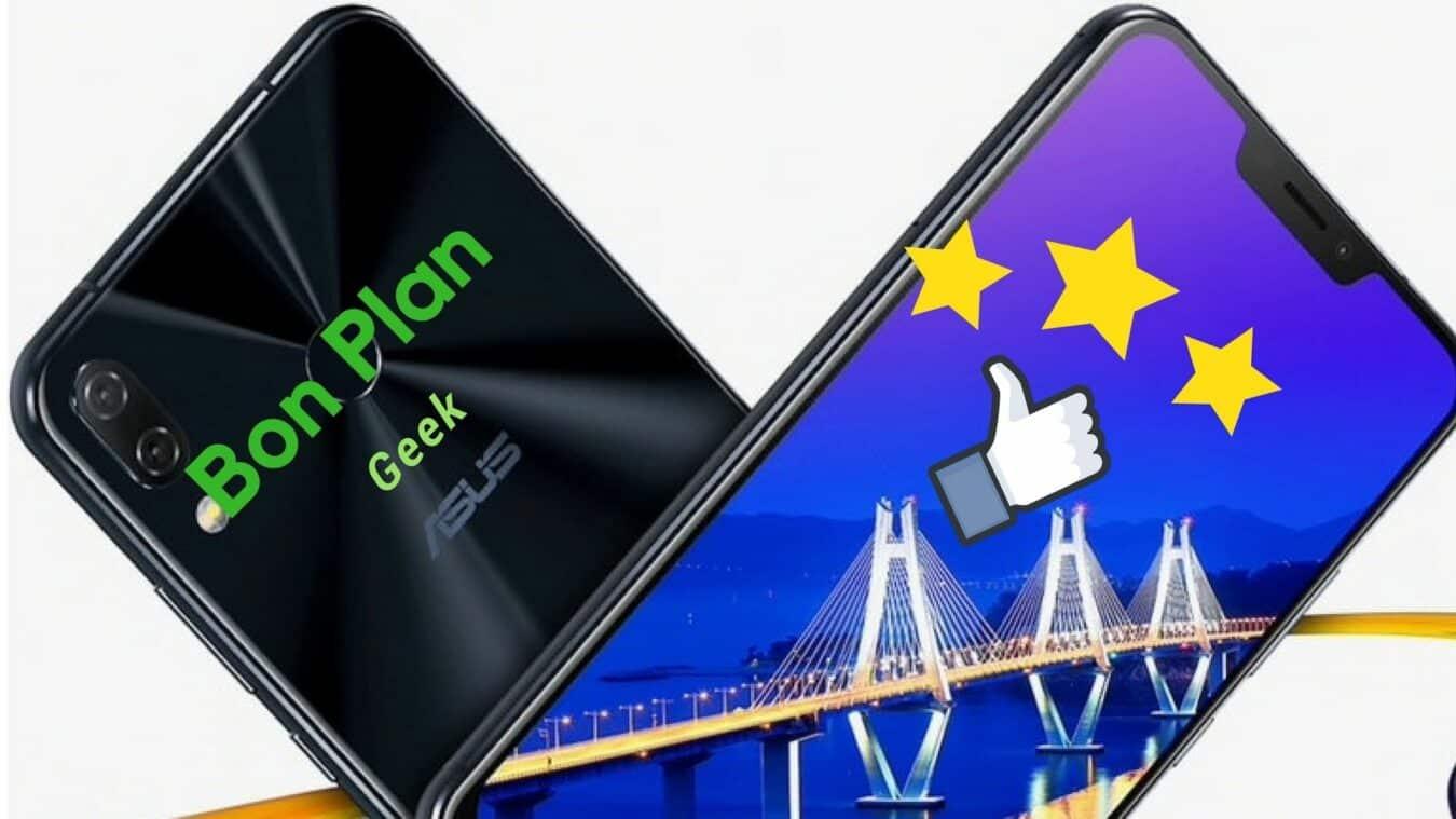 Photo de #BonsPlansGeek Exclu Zenfone 5, le nouveau Flagship d'Asus et le Huawei Mate 9 Pro