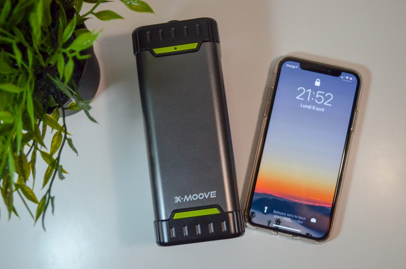 Photo de Test – X-MOOVE PowerGo BOOST : Batterie portable ultime pour les vacances