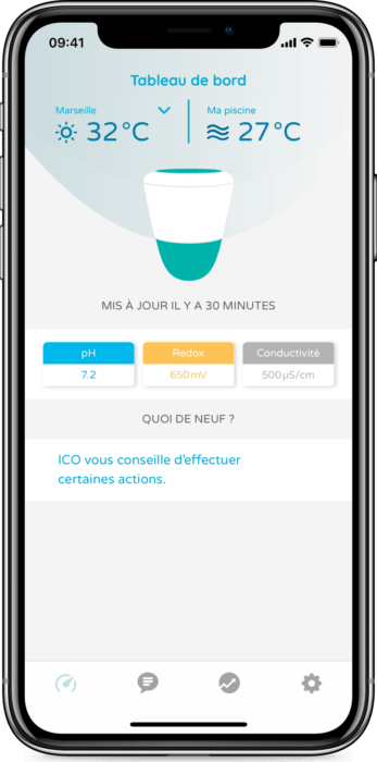 L'application ICO