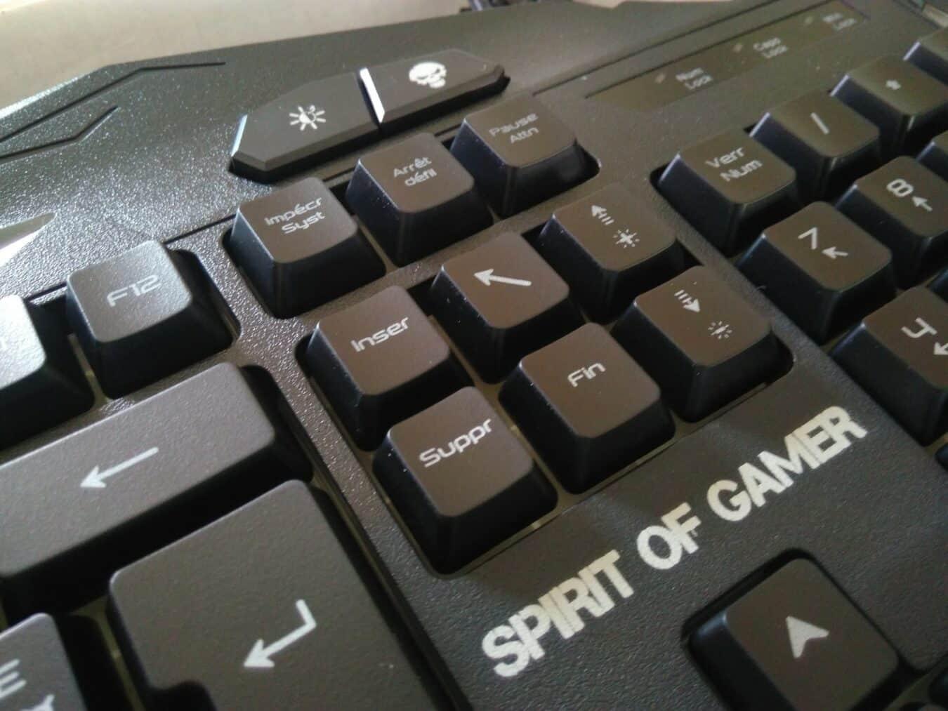 Avis du Spirit of Gamer Elite-K20
