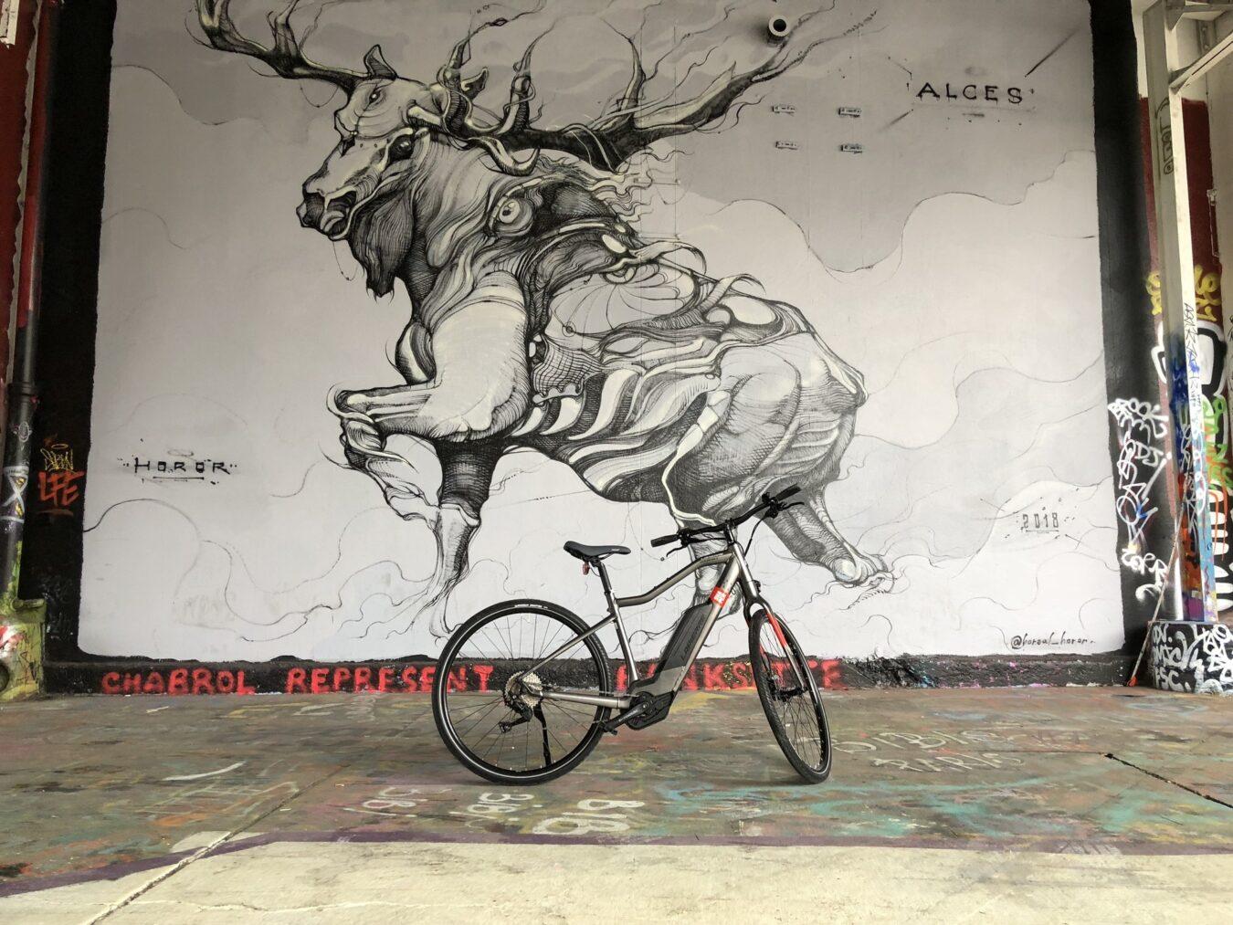 Photo de La nouvelle collection Lapierre avec des vélos électriques haut de gamme