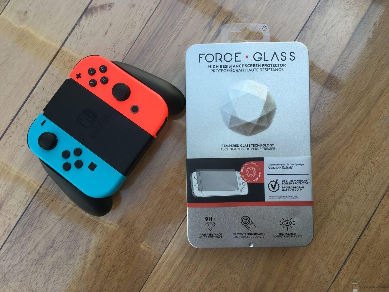 Photo de Test – Protéger à vie votre Nintendo Switch avec Force Glass