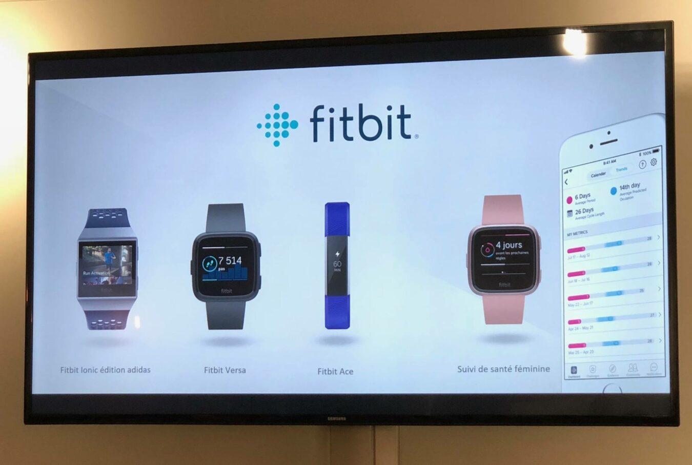 Photo de Keynote chez Fitbit, de nouvelles montres pour les sportifs connectés!