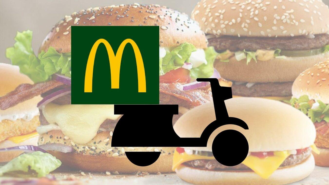 Photo de McDonald's lance enfin la livraison McDo à domicile sur l'application !