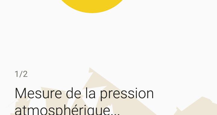 Sony WI-1000X-Mesure Pression Atmosphérique