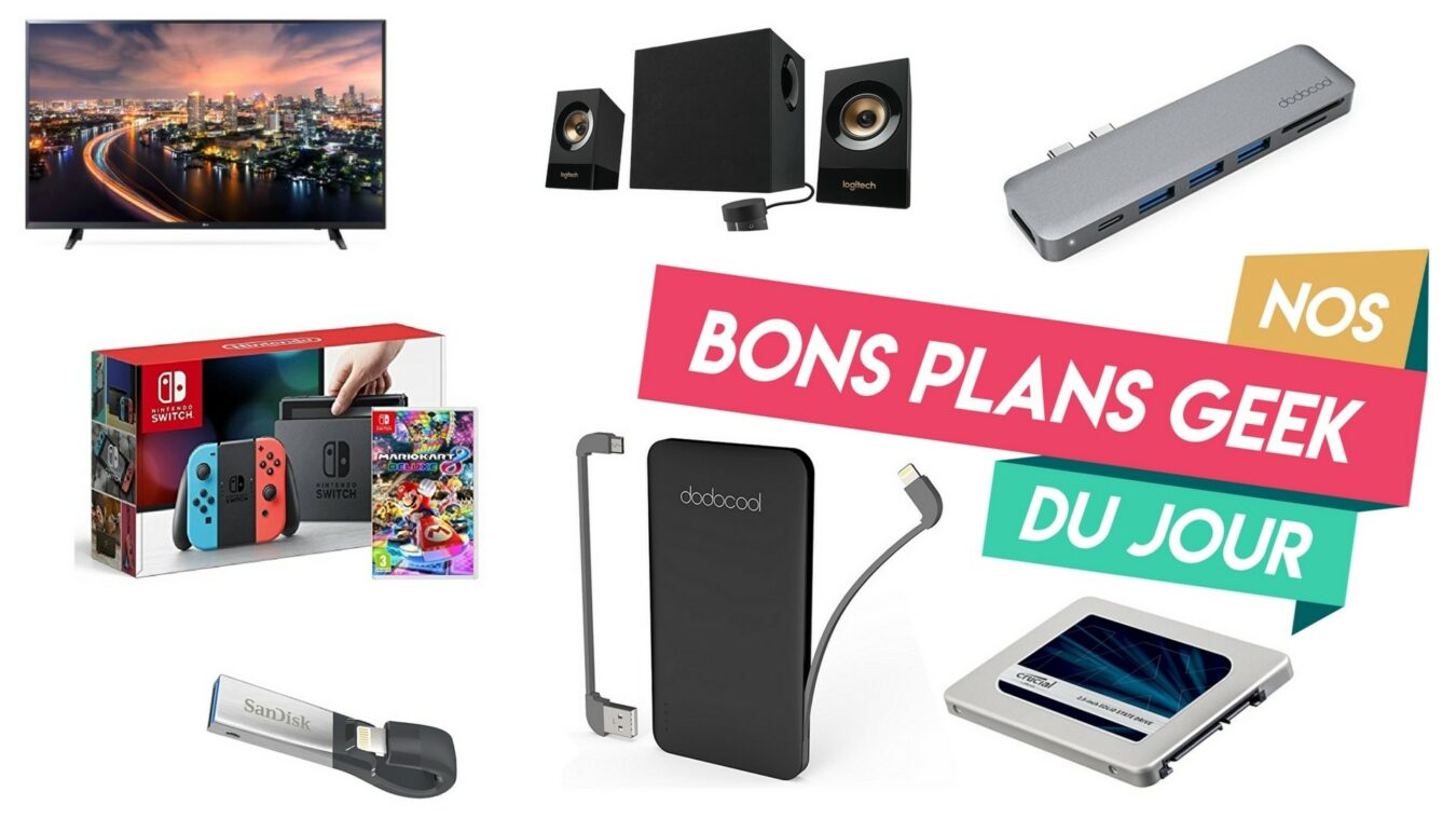 Photo de #BonsPlansGeek FrenchDays – Nintendo Switch, SSD Crucial de 1To à 198€ et Dodocool