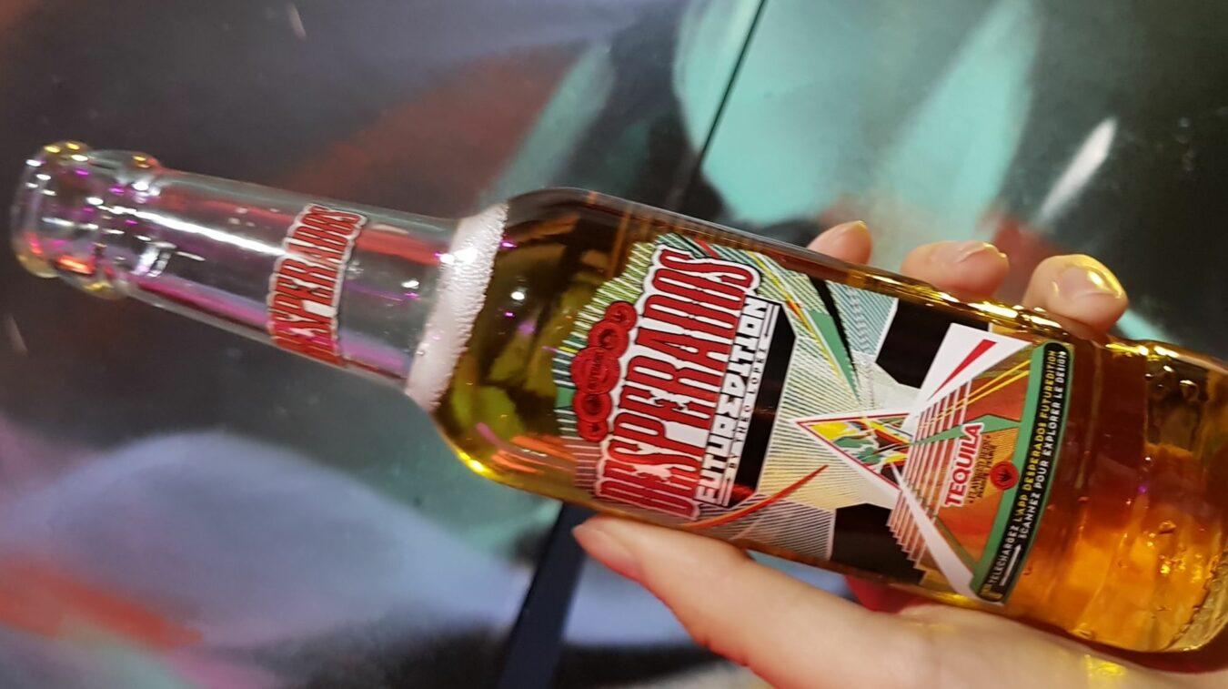 Photo de Desperados FUTUREDITION – Edition limitée de bouteilles liées à une expérience VR