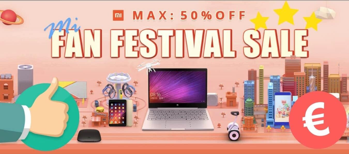 Photo de Plusieurs promotions Xiaomi jusqu'à -50% sur Gearbest- Bons Plans Geek