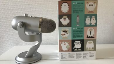 Photo of Blue Yeti Microphone – L'enregistrement audio accessible à tous par sa simplicité et son prix !