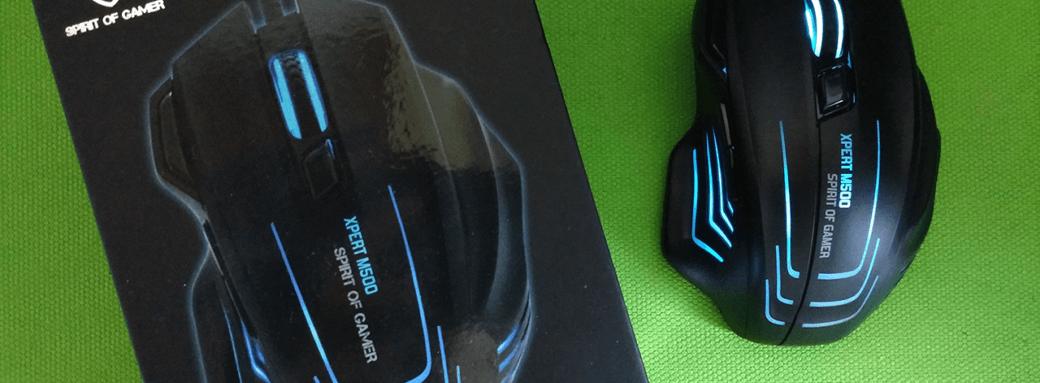 Avis de la souris SOG Xpert-M500