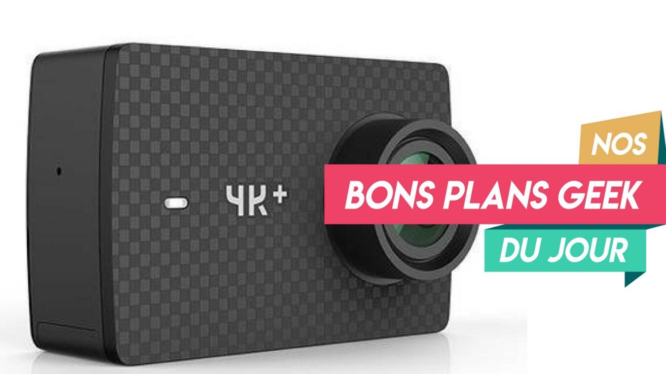 Photo de Action Cam Yi 4K+ de Xiaomi à 210€ – ? Bon Plan du Jour