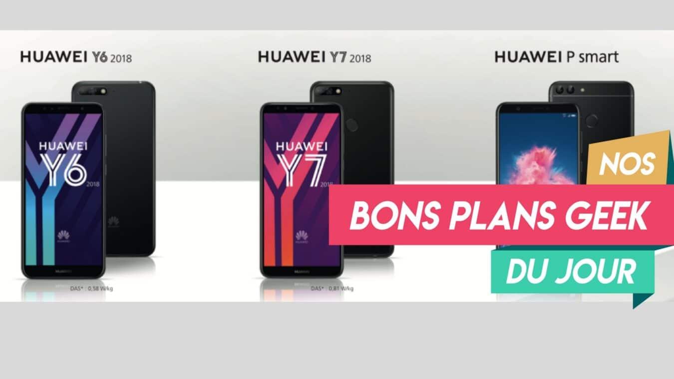 Photo of 30 € remboursé sur l'achat d'un smartphone Huawei Y6 ou Huawei Y7 – ? Bon Plan