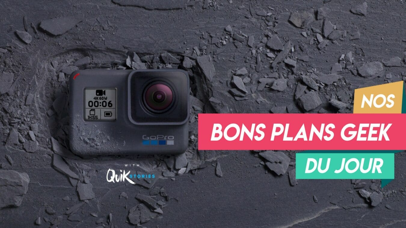 Photo de Gopro Hero 6 avec carte SD Sandisk 32 Go à 329€ – ? Bon Plan