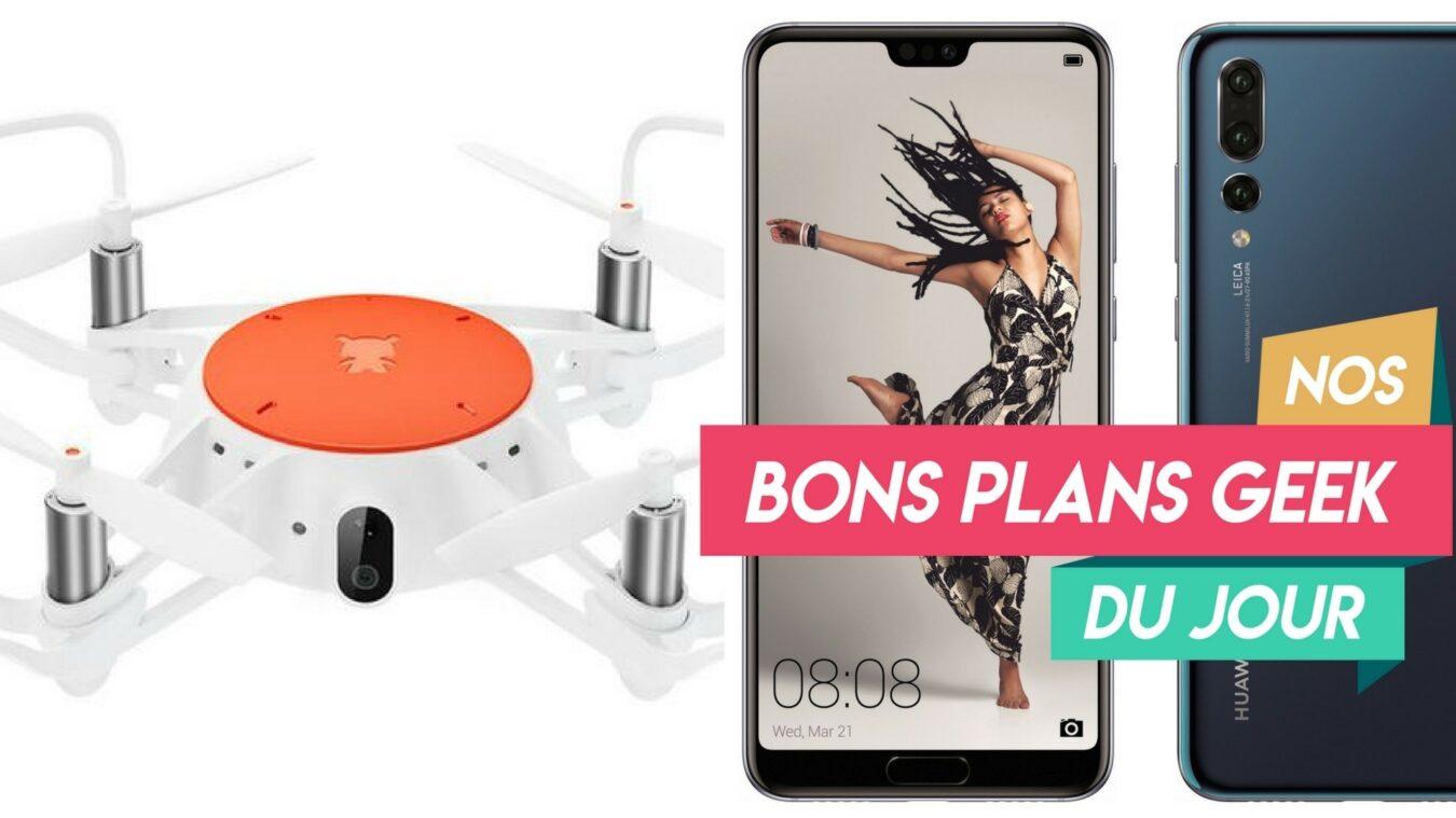 Photo of #BonsPlansGeek Nouveauté le Drone Xiaomi MITU, le Huawei P20 et le JBL Charge 3 toujours en PROMO 8