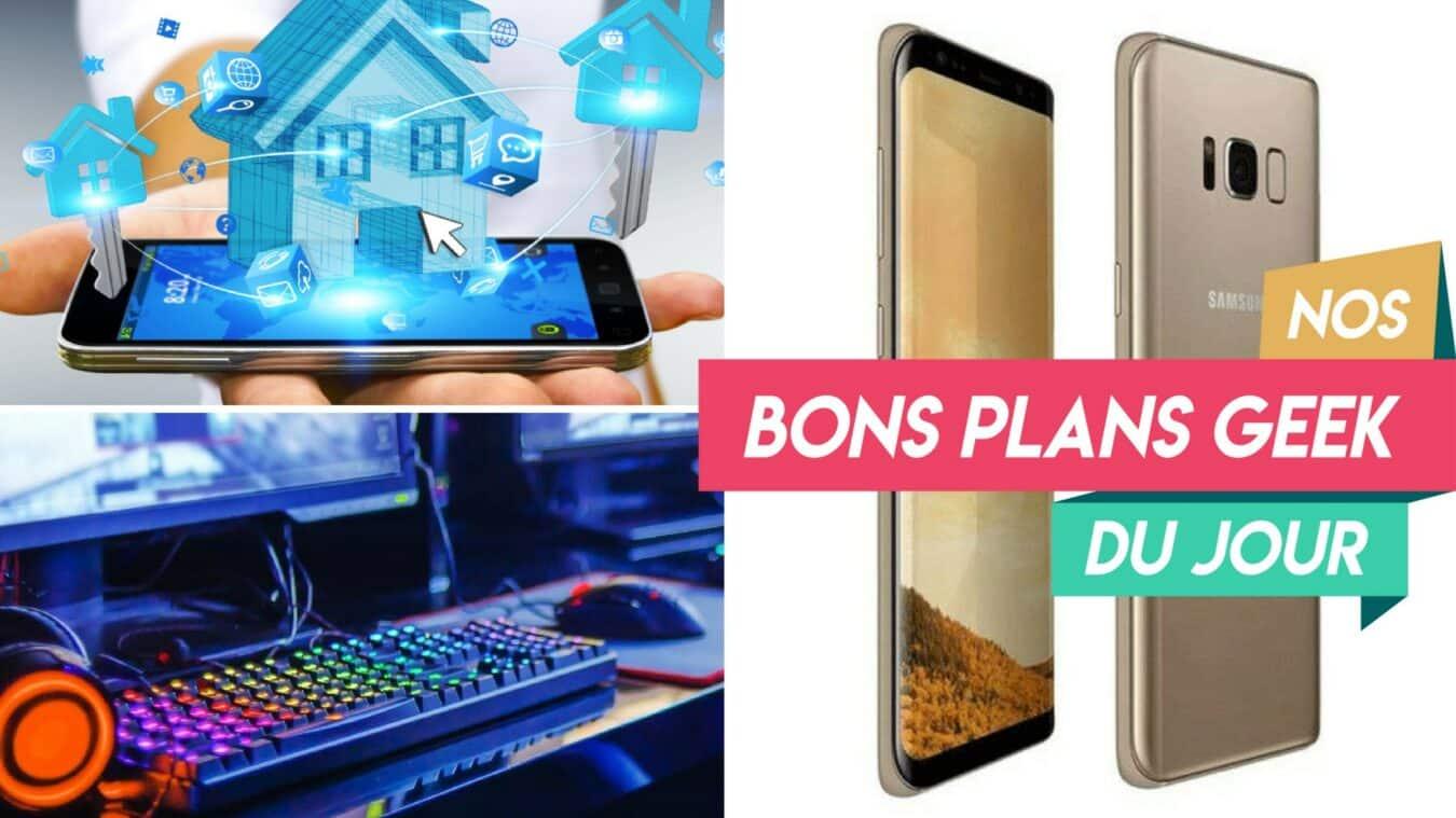 Photo de #BonsPlansGeek 300€ de remise sur Samsung Galaxy S8 +, une sélection Home Tech et Gaming à moins de 30€