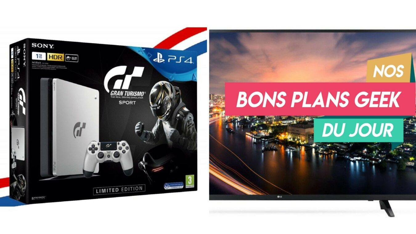 Photo of #BonsPlansGeek – PS4 Limited Edition à -17% et une LG Smart TV 43″ pour moins de 360€