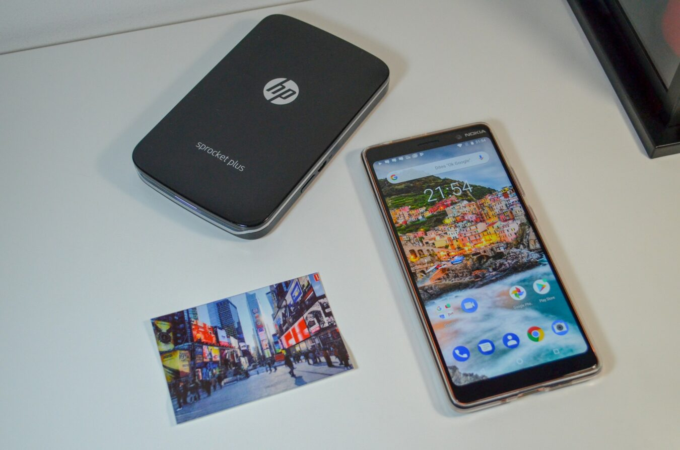 Photo de Test – HP Sprocket Plus : Imprimante de poche instantanée pour plaisir partagé