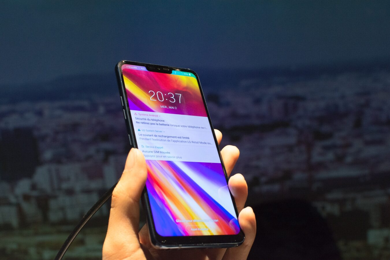 Photo de Que penser du nouveau LG G7 ThinQ ?