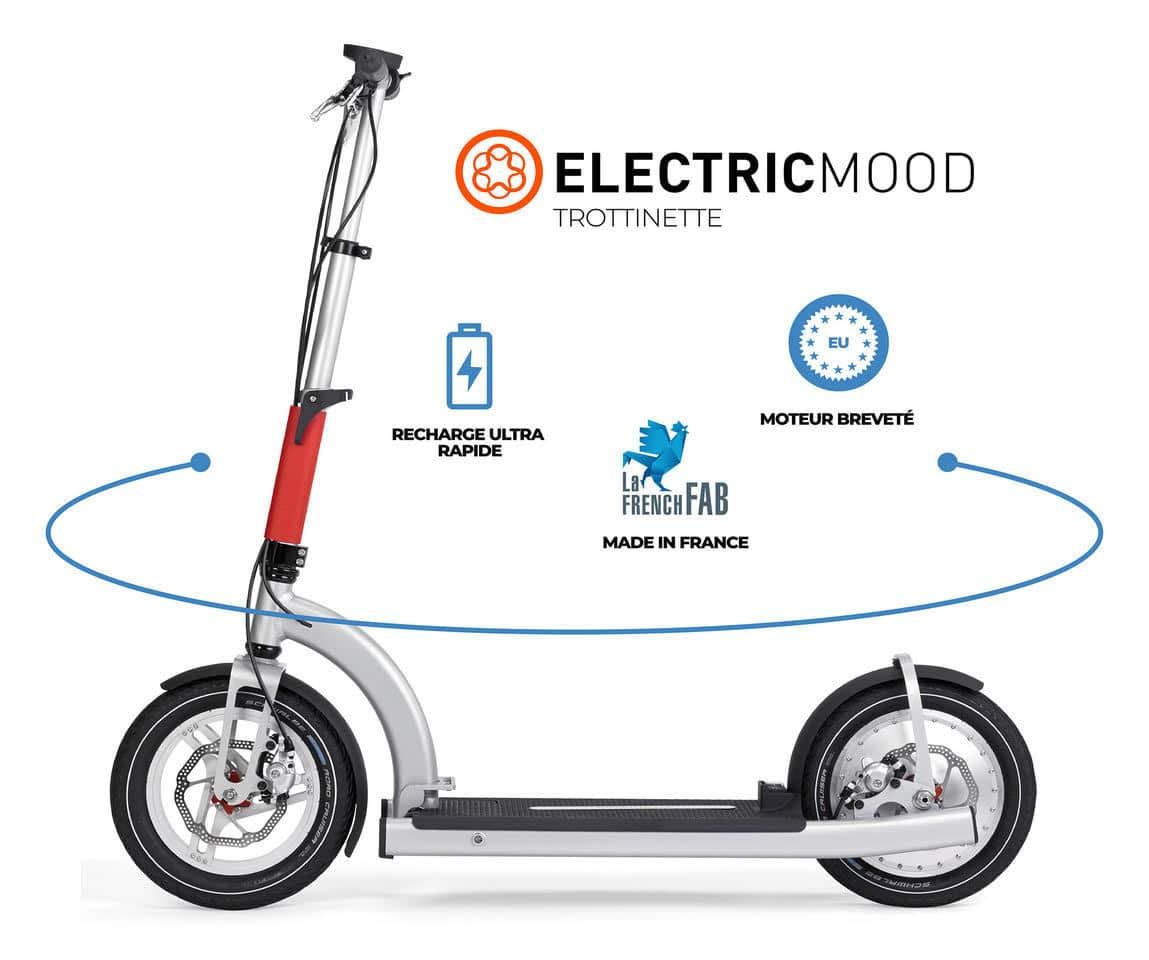 trottinette électrique electricmood