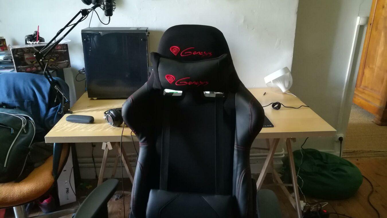 Photo de Test – Genesis Nitro 550 : Un siège pour Gamers avec des atouts