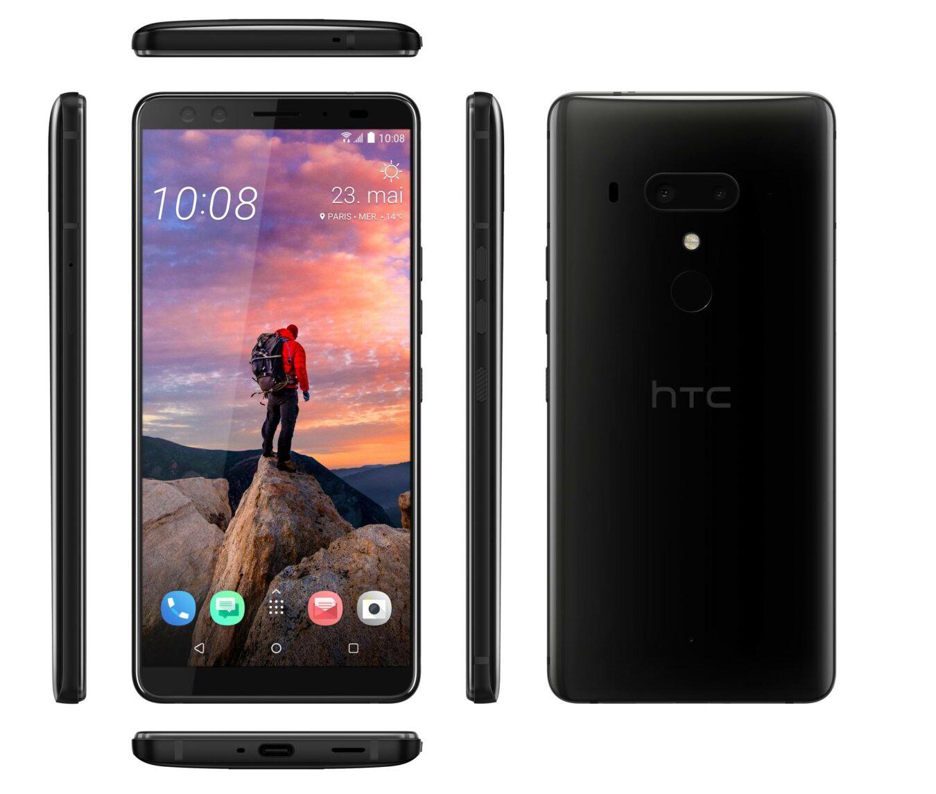 Photo de HTC U12+ : le nouveau flagship de la marque dévoilé