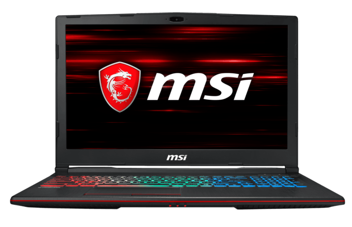 MSI GP63 Leopard de face