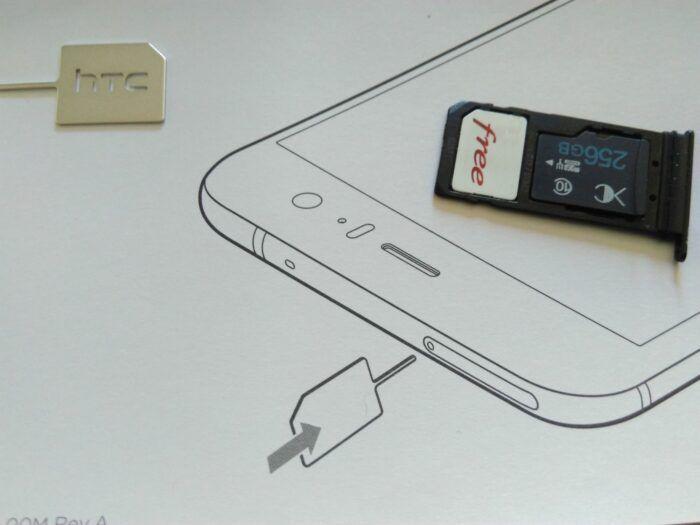 Nanosim et microSD