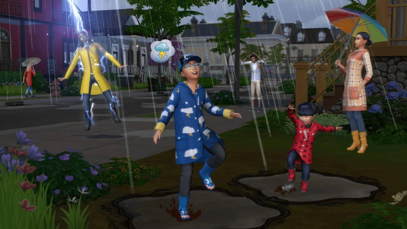 Photo de La météo et les saisons débarquent avec Les Sims 4 Saisons