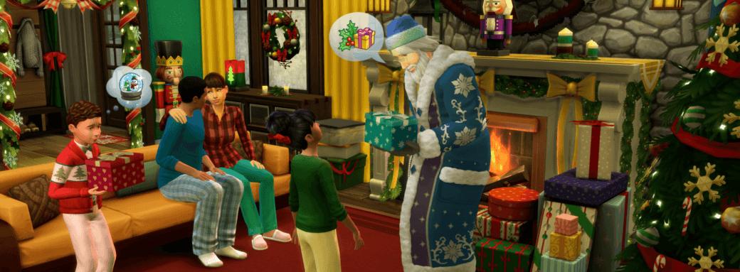 Noel dans les sims 4