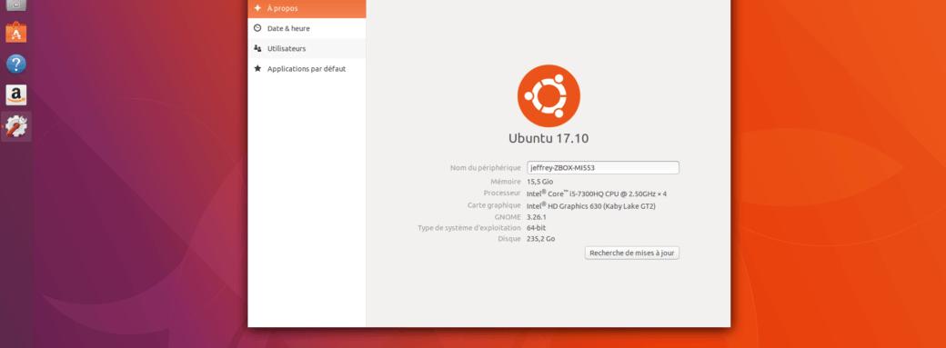 Zbox MI533-Ubuntu 1710