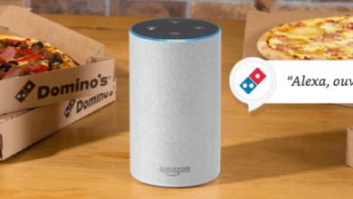 Photo de Dès le 13 Juin 2018, commandez vos pizzas Domino's via Alexa