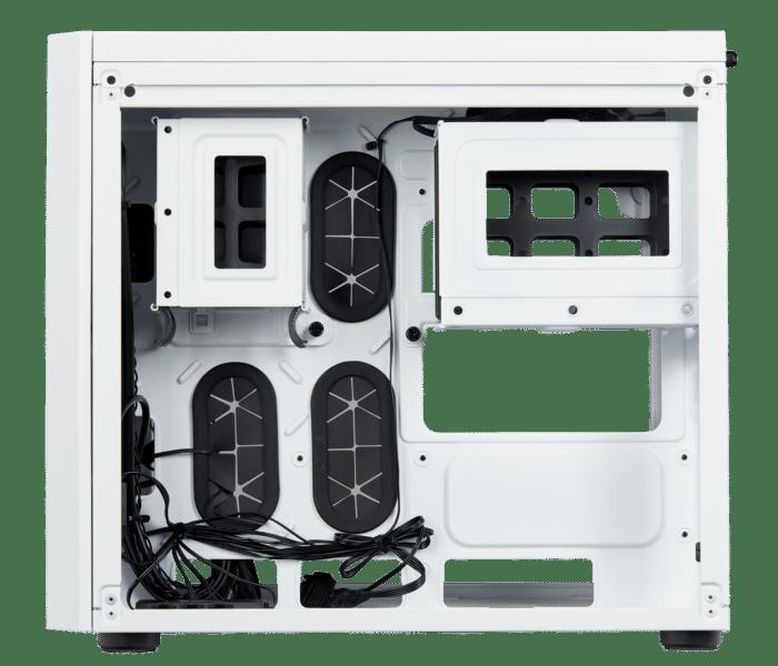 Boîtier Crystal 280X RGB white de côté