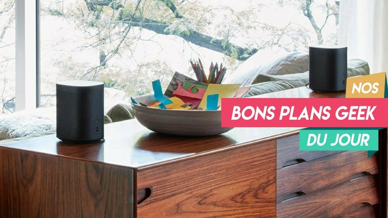 Photo of Magnifique Promo Sonos, deux enceintes Multiroom Sonos One avec Alexa intégrée pour 399€ – ? Bon Plan du Jour
