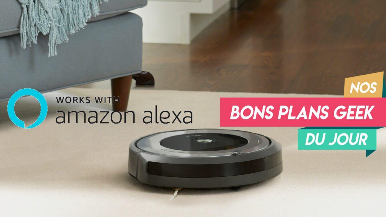 Photo de iRobot Roomba 691, l' aspirateur robot qui fonctionne avec Alexa à 329€ ? Bon Plan du Jour