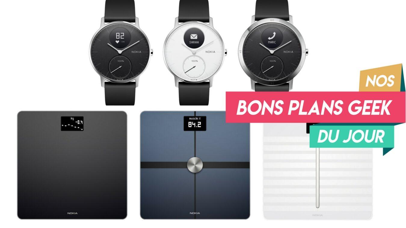 Photo of Nokia Health, les balances connectées Body+, Body Cardio et la Steel HR en Promo ? Bon Plan