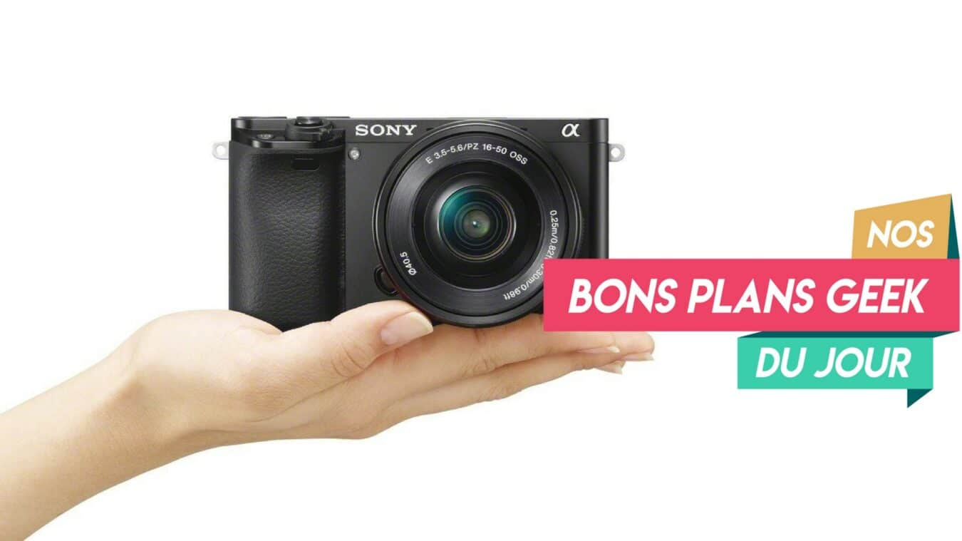 Photo of ? Bon Plan – Sony Alpha 6000, un appareil photo hybride digne d'un grand reflex à 489€