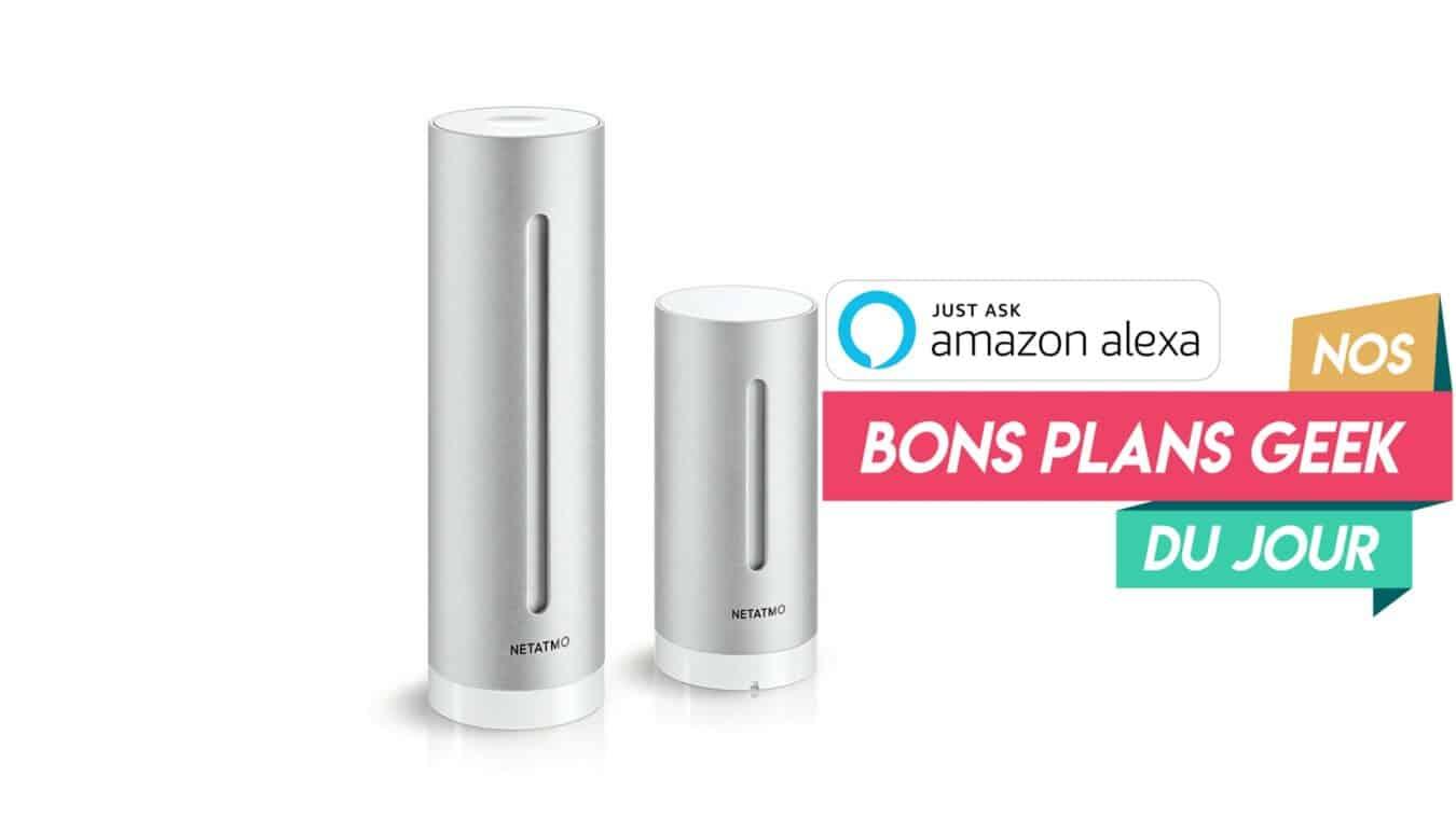 Photo de #BonPlan ? Netatmo une Station Météo intérieure et extérieure Connectée qui marche avec Alexa à moins de 150€