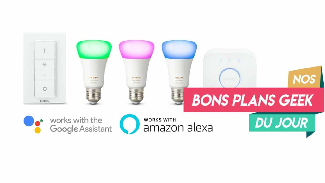 Photo of #BonPlan – Le kit de démarrage Philips Hue White and Color Ambiance à moins de 185€