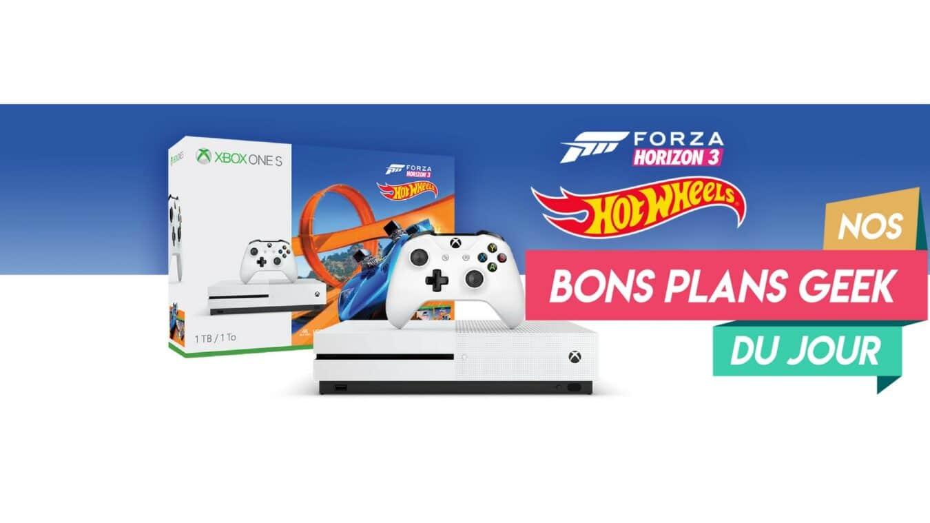 Photo of #BonPlan Xbox One S 1To avec les jeux Forza Horizon 3 et Hot Wheels pour moins de 200€