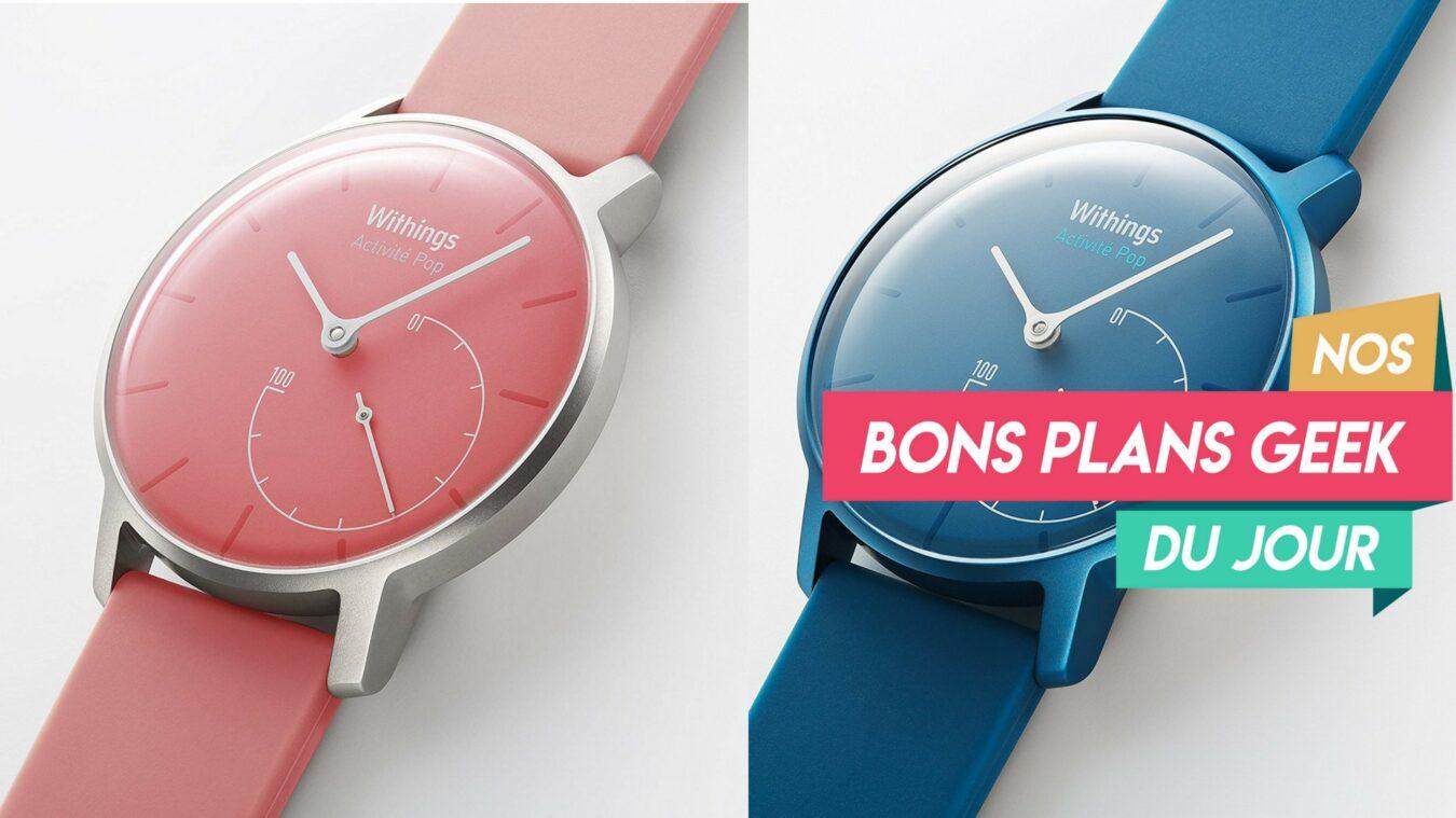 Photo de #BonPlan Withings Activité Pop une montre connectée pleine de couleur à moins de 60€