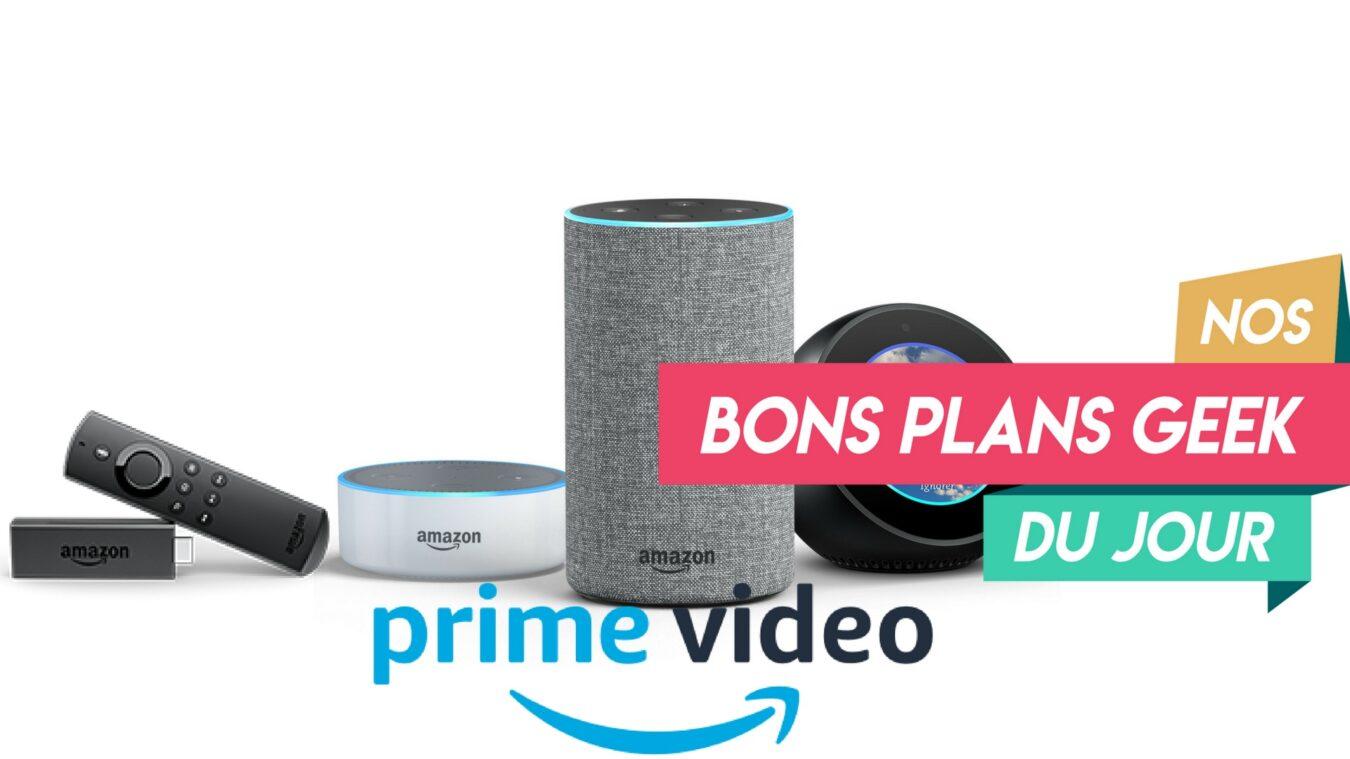 Photo of Produits Amazon : Echo, Fire TV Stick, Prime Vidéo jusqu'à -50% – ? Bon Plan