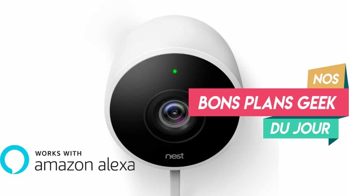 Photo of La caméra Nest Cam Outdoor compatible Alexa est à 180€ seulement – ? Bon Plan
