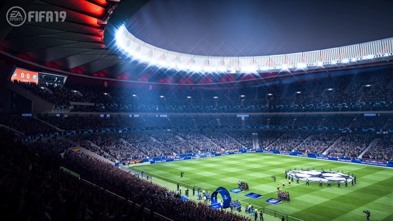 Photo of La Champions League retranscrite fidèlement dans FIFA 19