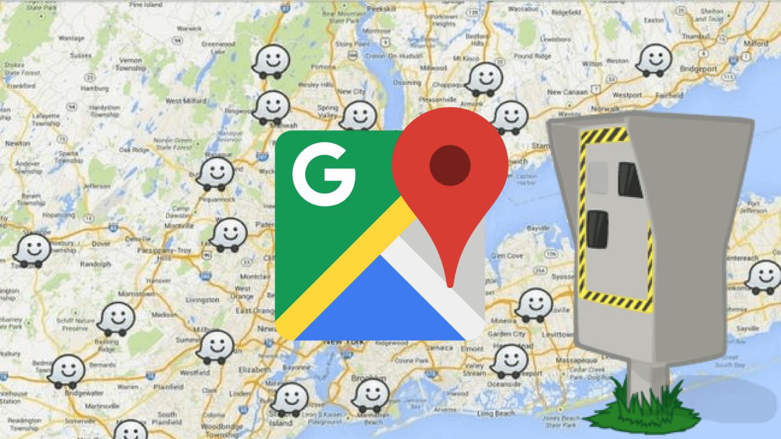 Photo de Google Maps va bientôt afficher la position des radars !
