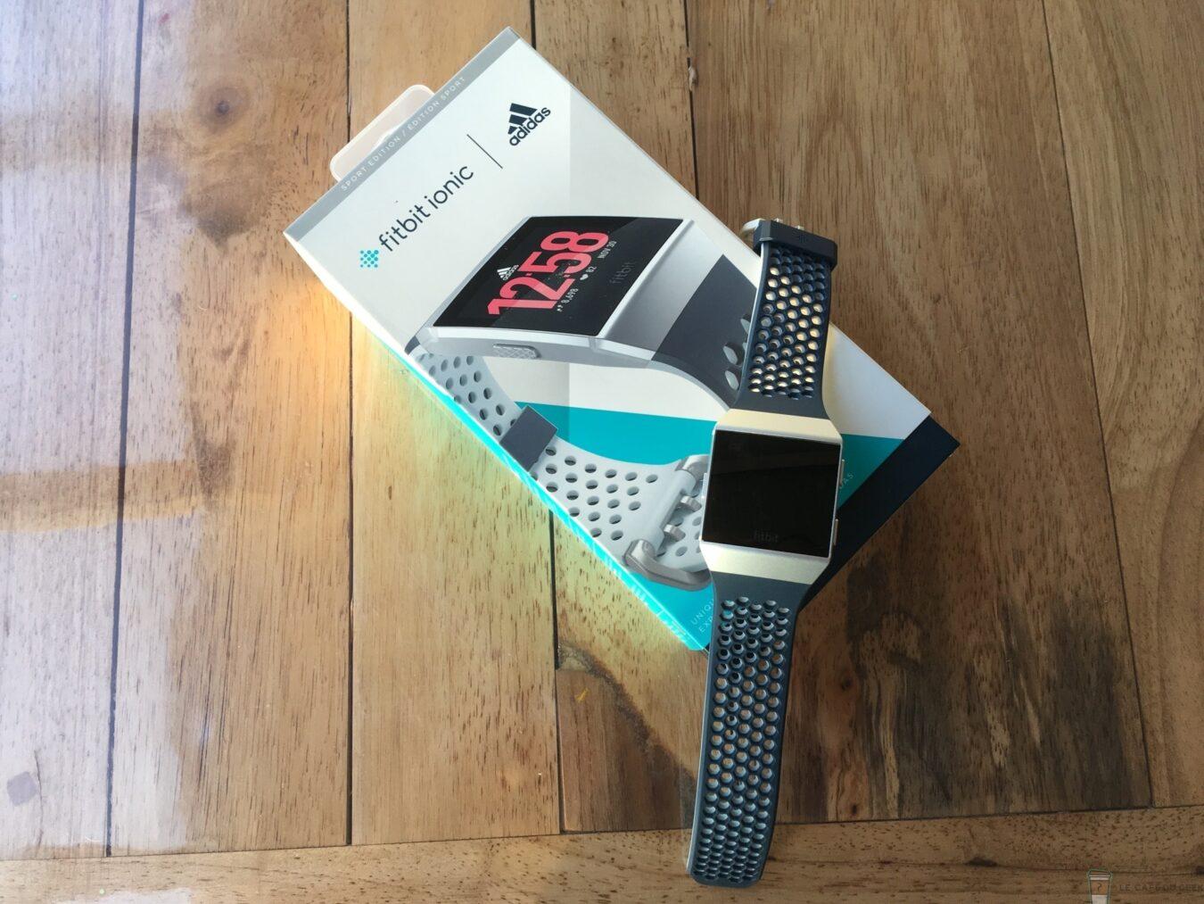 Photo de Test – Fitbit Ionic Adidas : Un coach toujours avec vous